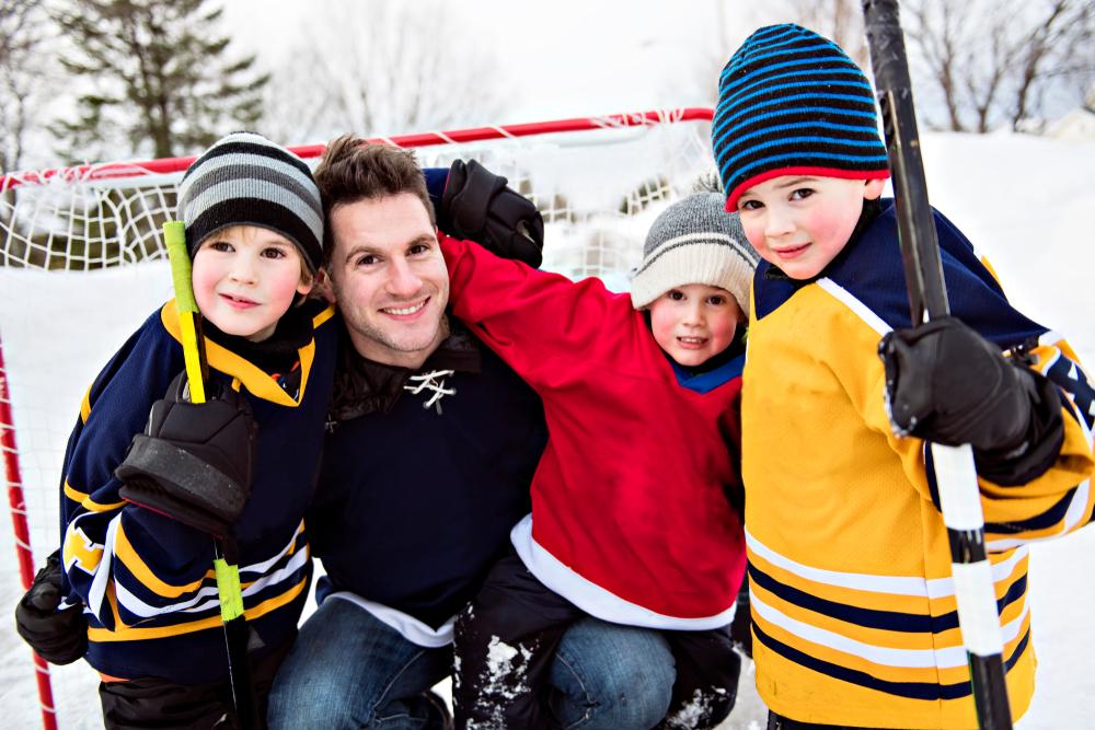 commencer le hockey sur glace
